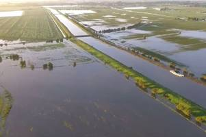 man's livelihood in tatters after losing over 20 acres of crops in wainfleet floods
