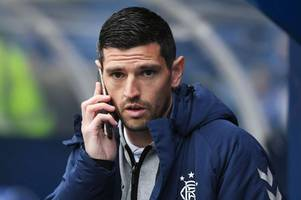 graham dorrans handed rangers chance to impress as he lines up in reserves friendly