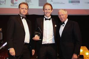 'young business person of the year' continues to break personal records after winning award