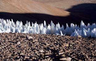 weird 'praying monk' ice daggers host life in one of earth's highest, most extreme environments