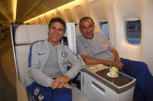 gianfranco zola hints at the huge mistake chelsea have made with maurizio sarri