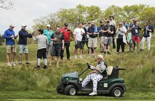 daly withdraws from british open; was denied use of cart