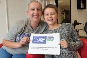 a tamworth mother and daughter duo have braved the shave for macmillan cancer support