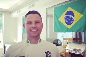 key member of gloucester rugby staff got to experience brazil football hysteria and cook with 'goat' in women's world cup role