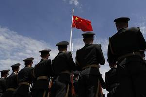 chinese troops in first joint medical drill with major nato power in europe