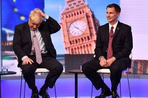 Boris Johnson vs Jeremy Hunt - Live blog as Tory Leadership contenders go head-to-head