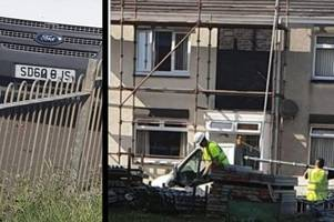family company tommy graham scaffolding are robbed at murdoch court in troon