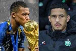 william saliba's kylian mbappe connection ahead of £27m arsenal move