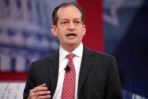 Labor Secretary Alexander Acosta to address 2008 plea deal in Jeffrey Epstein case
