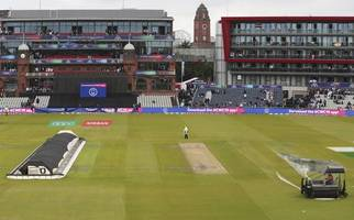 world cup matchday 40: india and new zealand return on reserve day after downpour