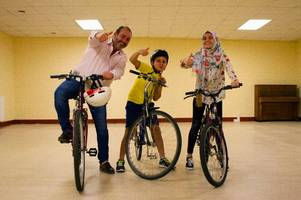 new charity has donated more than 600 bikes to asylum-seekers across scotland