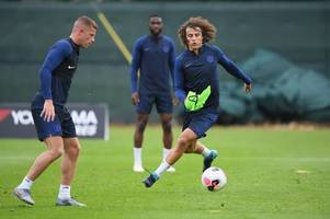 david luiz reveals his thoughts on frank lampard replacing maurizio sarri as chelsea's boss