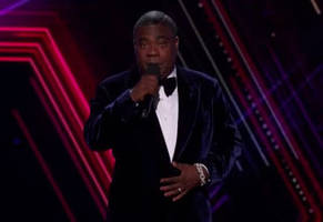 tracy morgan's opening monologue at the espy's tonight has people cringing