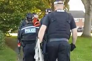 Drug dealing suspects rounded up in police raids in Leicester and villages
