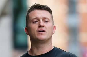 Tommy Robinson jailed for contempt of court at Old Bailey