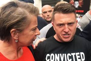 Tommy Robinson jailed for contempt of court - but he won't be in prison for long