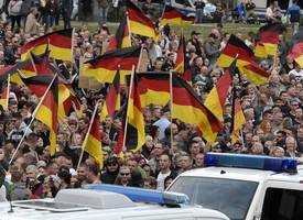 germans protest against migrant's deportation: 'you are stealing our neighbour'