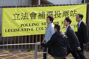 Hong Kong witnesses record registration of voters since 2003 as 350,000 new people express willingness ...
