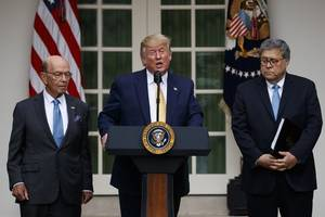 trump bashes liberals as he declares defeat on census citizenship question
