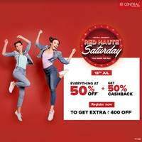 central celebrates red haute saturday on 13th july