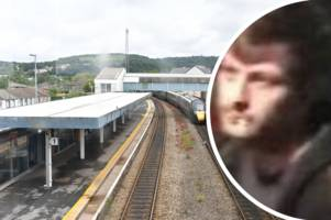 CCTV pic released of man wanted in connection with violent fight between train passengers and youths