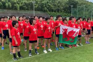 The adorable video of Japanese children belting out the Welsh national anthem