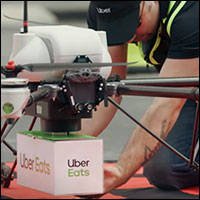 uber drones to make meal drops this summer