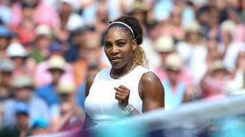 Serena Williams, Near the Peak of Her Powers, to Play Halep in Wimbledon Final