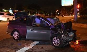 it took cops over an hour to find body of injured mom in nissan versa wreckage