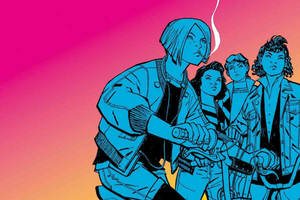 brian k vaughan's 'paper girls' adaptation gets series commitment from amazon studios