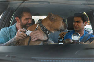 'stuber' film review: kumail nanjiani and dave bautista stall out with deflated script