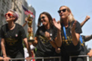 USWNT Player Allie Long's New Key To The City Stolen
