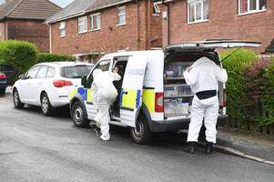 Five men arrested after police raids uncover 'drug-making' chemicals
