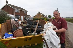 anger in wainfleet as families with flooded homes face months of chaos