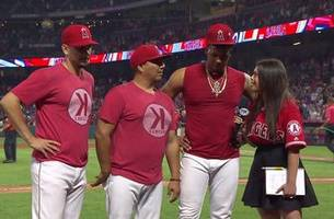 Pena on the loss of Tyler Skaggs: Now we have an angel watching over us in heaven.