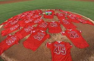 Los Angeles Angels honor Taylor Skaggs with a spectacular performance