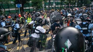 Hong Kong Protests Continue After Reports Of Police Violence
