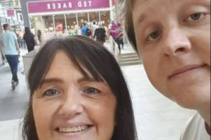 Lewis Capaldi pictured in Livingston outlet with 'ma maw' just hours before TRNSMT set