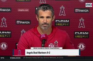 Brad Ausmus and the Angels win on Tyler Skaggs birthday