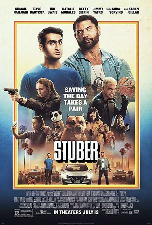 movie review: stuber