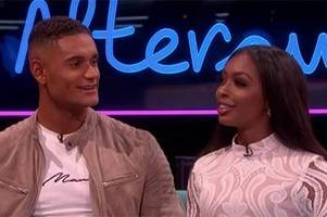 love island's danny williams reveals blossoming romance with jourdan riane - but fans aren't convinced