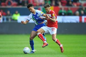 bristol city and brentford set to miss out as wigan athletic agree fee with everton for full-back