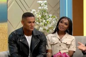 excruciating moment love island's danny addresses relationship status in front of jourdan on lorraine