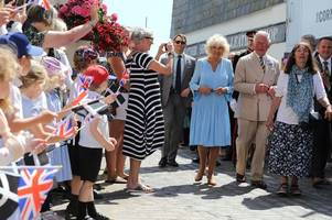 royal visit day two: prince charles and camilla to visit ginsters and the duchy of cornwall nursery