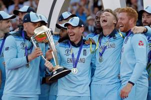 England's Cricket World Cup 2019 victory to be marked by white and gold postbox in Somerset