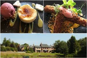 review: new summer menu at moddershall oaks country spa retreat