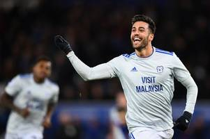 burnley lead tottenham, west ham united and leicester city in bid to sign ex-cardiff city loanee victor camarasa