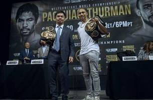 manny pacquiao vs. keith thurman on fox ppv: how to watch, start time, odds and more