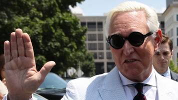 roger stone barred from using facebook, twitter and instagram
