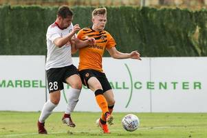 'there's no better place to be' - hull city's rookies urged to seize every chance under grant mccann
